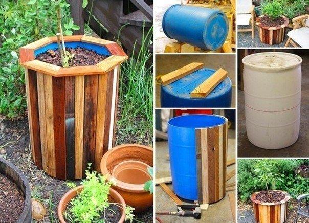 Как сделать горшки для сада