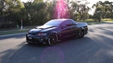 Holden Commodore VE UTE HSV Maloo R8 E Series LS3 V8 Turbo Start Up Accelerate Sound