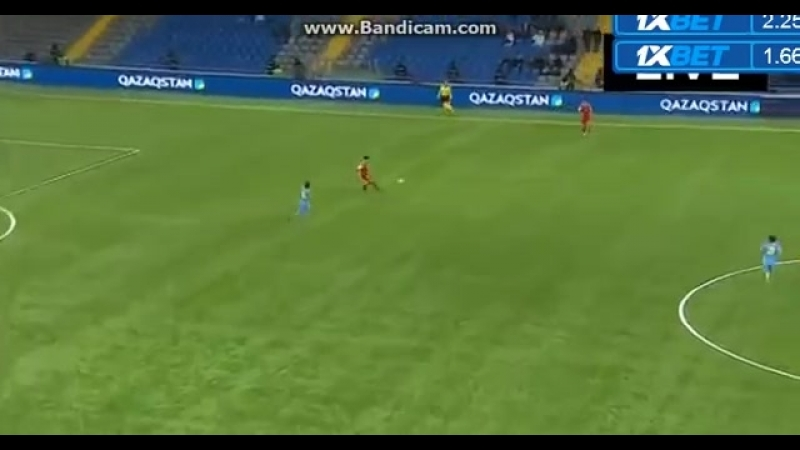 Гол. Ян Вороговский. Казахстан U-21-Люксембург U-21