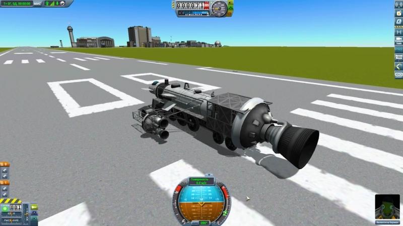[Канал Глюка] Kerbal Space Program | Турбо Поезд Глюка | Упоротые игры