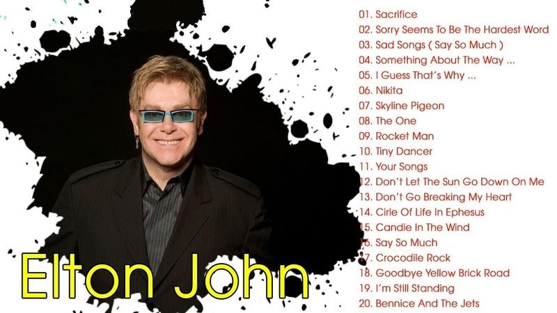 Elton John Grandes Exitos Enganchados Sus Mejores Éxitos Completo 2019
