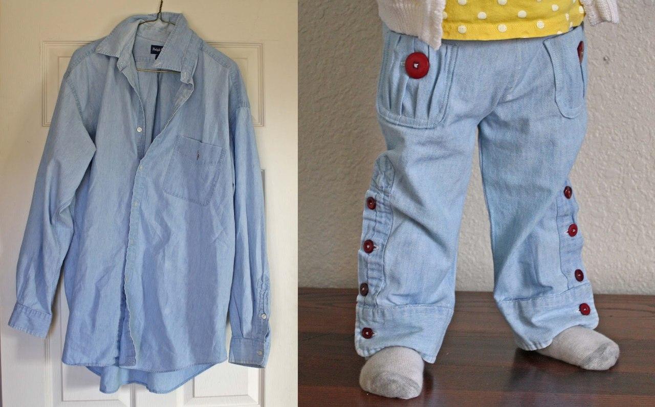 Сшить детские шорты из старых джинс фото 711