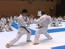 Kumite training by Hidetoshi Nakahashi
