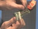 оригами из денег - ружье двухстволка 2 мин