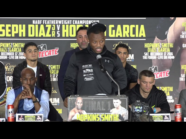 Thabiso Mchunu fighting on Final1 Undercard speaks at the press conference