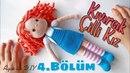 Amigurumi Kıvırcık Çilli Kız Bebek Bacak Birleştirme ve Gövde Yapılışı 4 6
