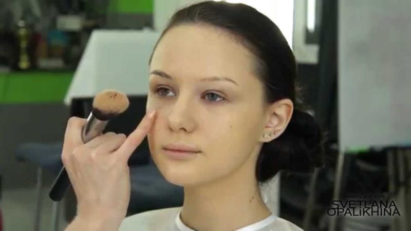 Экспресс макияж в домашних условиях