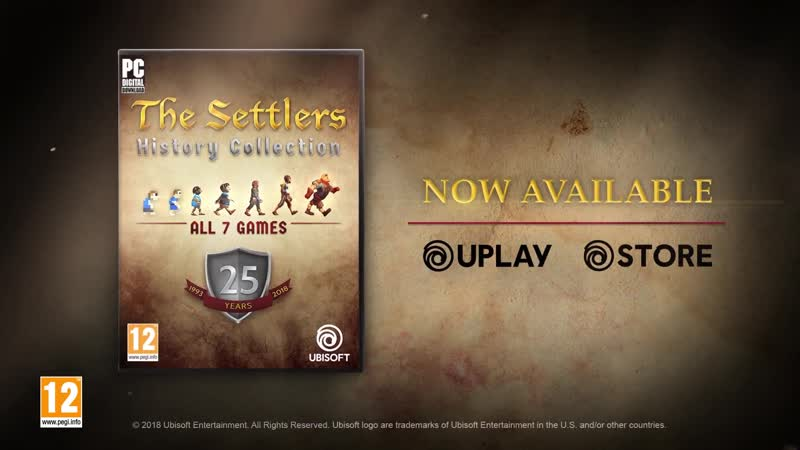 Релизный трейлер The Settlers History Collection