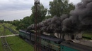 Отправление поезда со станции Окница. Медвед .