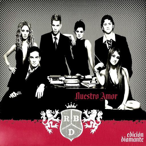 RBD альбом Nuestro Amor (Edición Diamante)