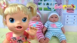 Doll Puppy and Barbie Gathers Suitcase On the sea Games For girls Cartoons for girls about child