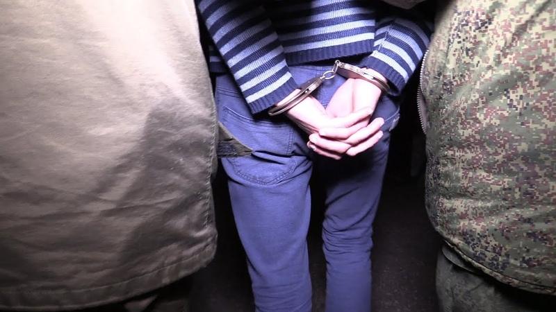 В Донецке задержан вор-рецидивист
