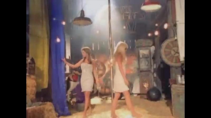 Jennifer Walcott and Christi Shake play with their busty, sexy bodies