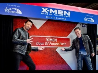 X-Men Train - HD Interview - In Cinemas 22nd May