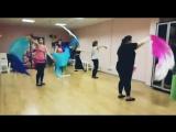 Группа - МолодёжьВзрослые (от 16 лет). Направление - Восточный танец.