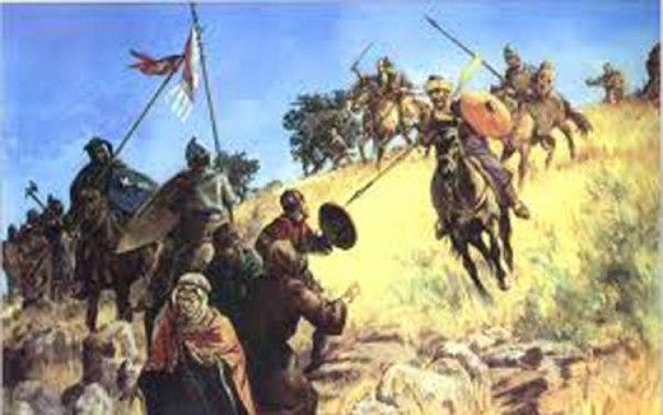 Әбу Бәкрдің р.л.ғ. халифалық дәуіріндегі әскери жетістіктер