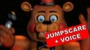 Toy Freddy jumpscare voice | FNAF Ultimate Custom Night