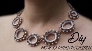(DIY) HOW TO MAKE PARTY WEAR NECKLACE | HOW TO MAKE DESIGNER NECKLACE AT HOME
