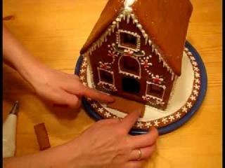 Пряничный домик ч.2 (видео рецепт) [uroki-online.com]