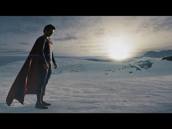 Первый полёт Супермена.Человек из стали