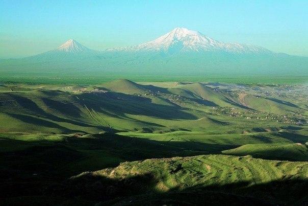 Вид на Арарат, Армения