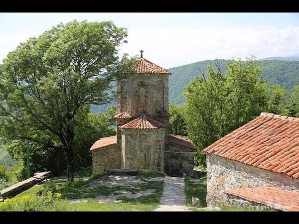Монастырь Некреси ნეკრესის სამონასტრო замок Греми გრემი Кахетия Алазанская долина Грузия