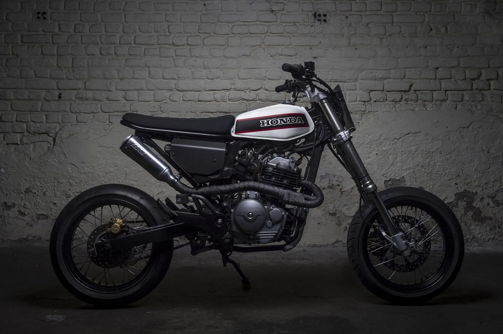 Toma Customs: кастом Honda FMX650