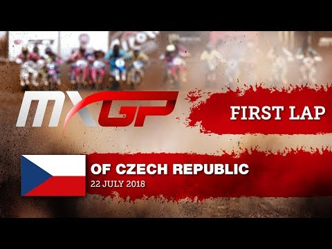 First GoPro Lap with Thomas Covington - MXGP of Czech Republic 2018 Loket Motocross