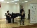 С. Плеханов. Диптих для саксофона и фортепиано