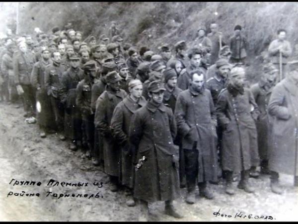 Ірина Максимів про німецьких військовополонених в Тернополі (1944р)