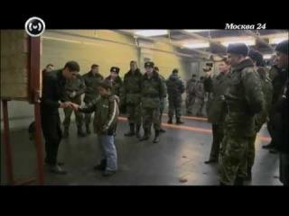 Обучение безоборотному метанию ножа. Телеканал Москва 24.