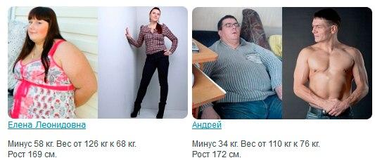 Белая диета я похудела