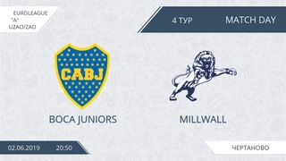 Boca Juniors   Millwall