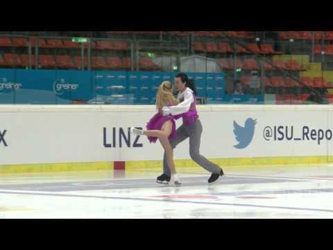 2015 ISU Jr. Grand Prix - Linz Free Dance Olga GIGLAVA Aleksandr SIROSHTAN UKR