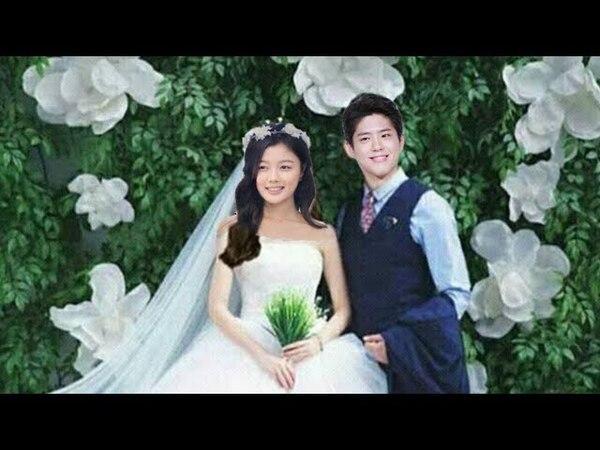 Park BoGum Kim Yoo Jung Wedding Couple Perfect,BoYoo Sweet Love