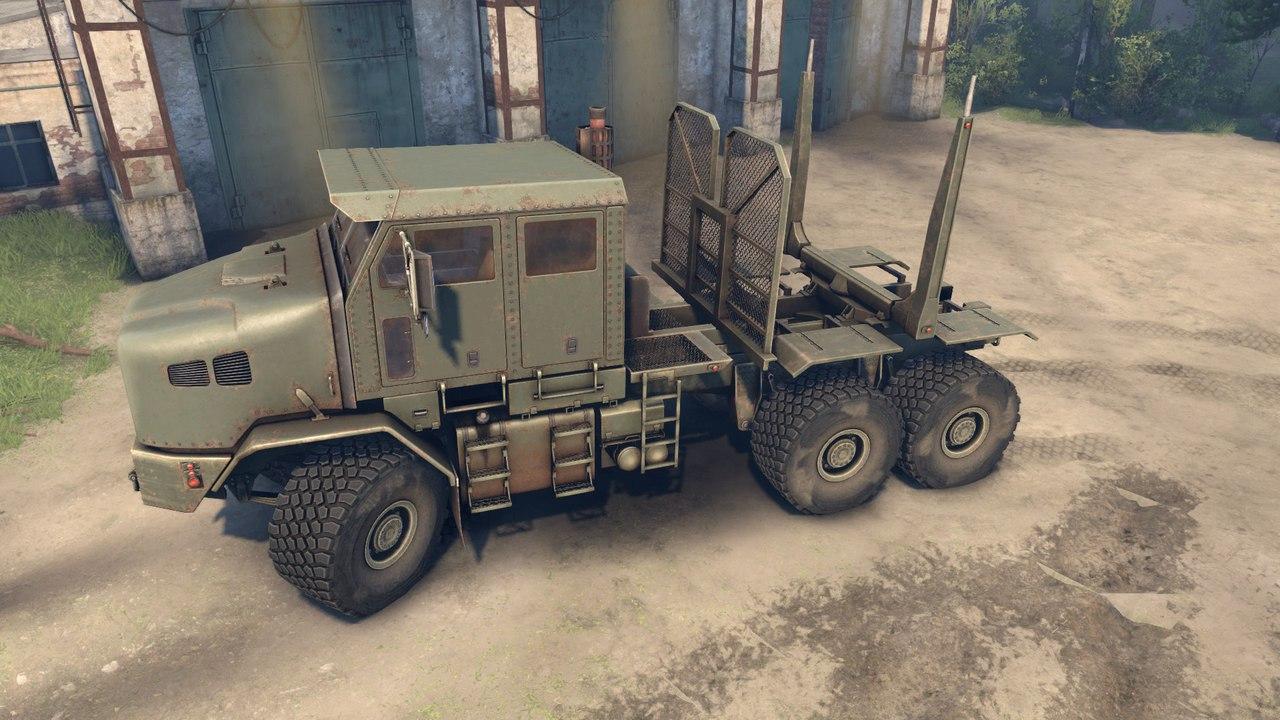 Oshkosh HET M1070 Global 1.0 для Spintires - Скриншот 1