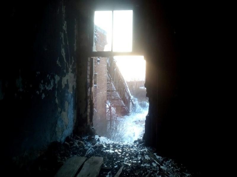 Заброшенный колбасный завод в Зайково