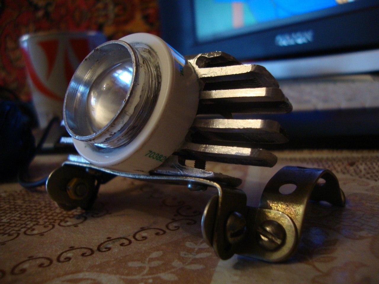 Своими руками фонарик для велосипеда