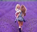 Бывает, что семья состоит только из мамы и малыша…