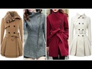Latest Winter Fashion Long Coats Designs For Girls