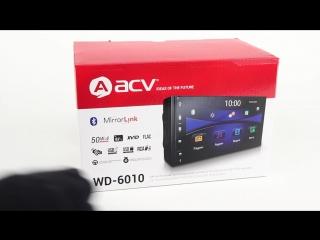 Обзор магнитолы ACV WD-6010