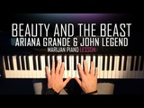 How To Play Beauty And The Beast - Ariana Grande &amp John Legend Piano Tutorial Lesson + Sheets