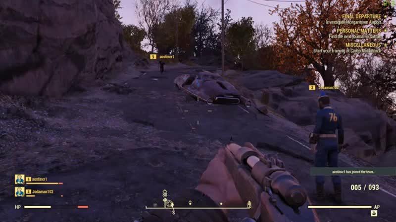 Первый этап бета-тестирования Fallout 76 FPS
