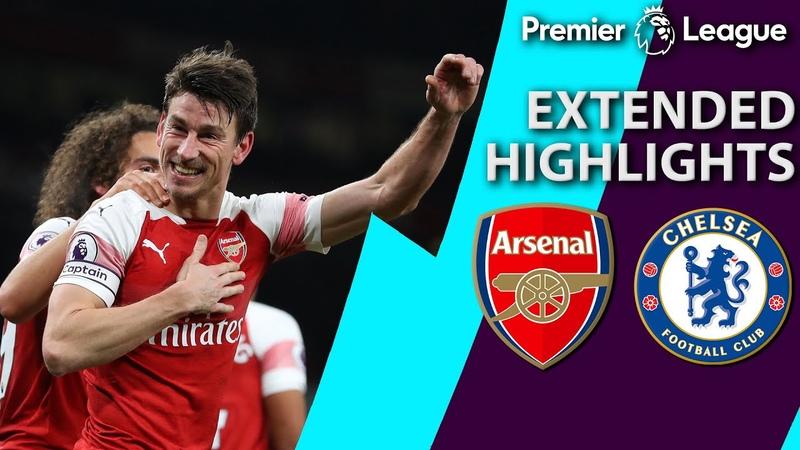 Arsenal v Chelsea PREMIER LEAGUE EXTENDED HIGHLIGHTS 1 19 19 NBC Sports