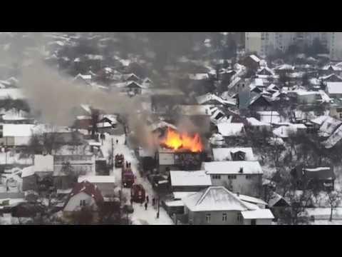 Пожар 5 углов Чернигов 19 12 2018