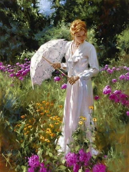 Женщина произошла из ребра мужчины...  Не из ноги, чтобы быть униженной,  Не из головы, чтобы превосходить... Но из БОКА, чтобы быть бок о бок,  Из под руки, чтобы быть защищенной,  И со стороны сердца, чтобы быть любимой...