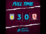 Aston Villa 3-0 Middlesbrough