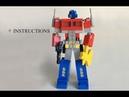 Lego Transformers Optimus Prime review