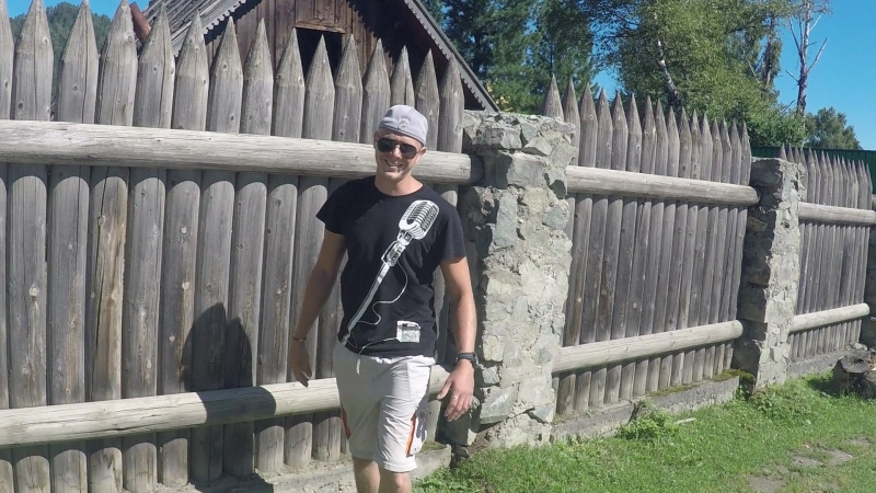 Забор в стиле *Древней Руси*