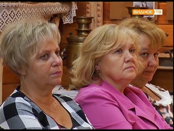 Открытая власть встреча главы Ленинского района с работниками социальной сферы